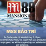 Trang M88 có thường xuyên bảo trì không? Thời gian bảo trì trung bình của nhà cái M88