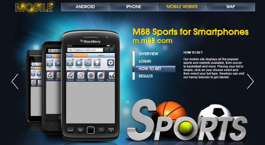 Nhà cái đã mở rộng và nâng cấp lên các trình độ giao diện khác nhau và đặc biệt là M88 mobile