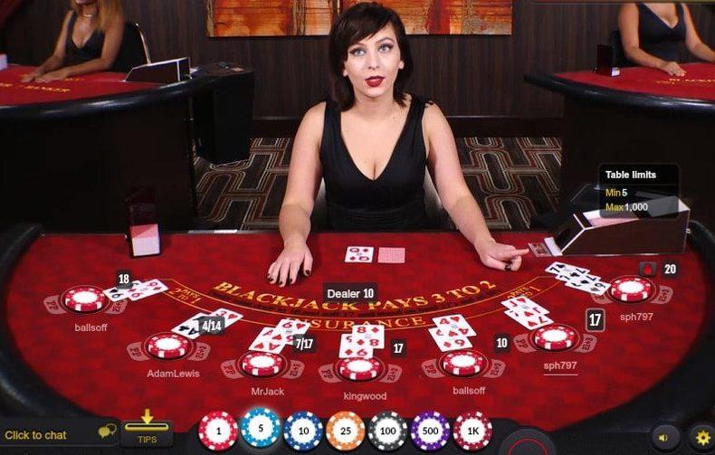 hướng dẫn chơi blackjack tại casino trực tuyến