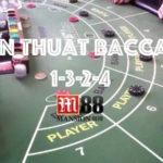 Chiến thắng Baccarat với chiến thuật 1-3-2-4