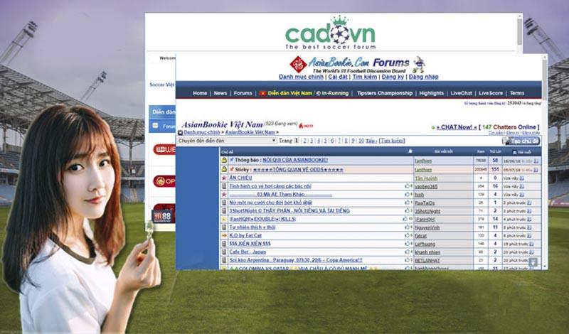 Diễn đàn bóng đá Cadovn